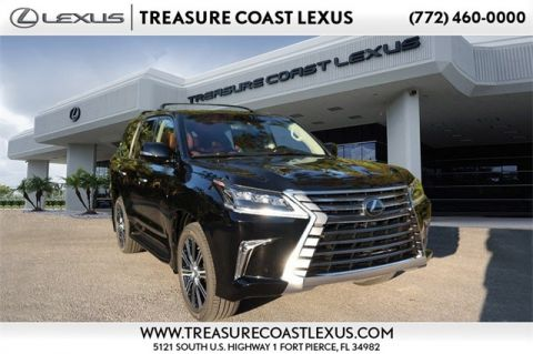 New 2020 Lexus LX 570 3rd Row